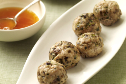 Chinese New Year Recipes: Weight Watchers Chicken Balls