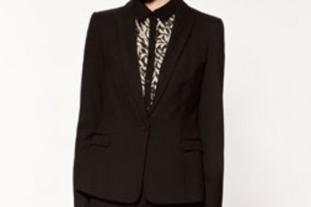 This Zara blazer works well in the office