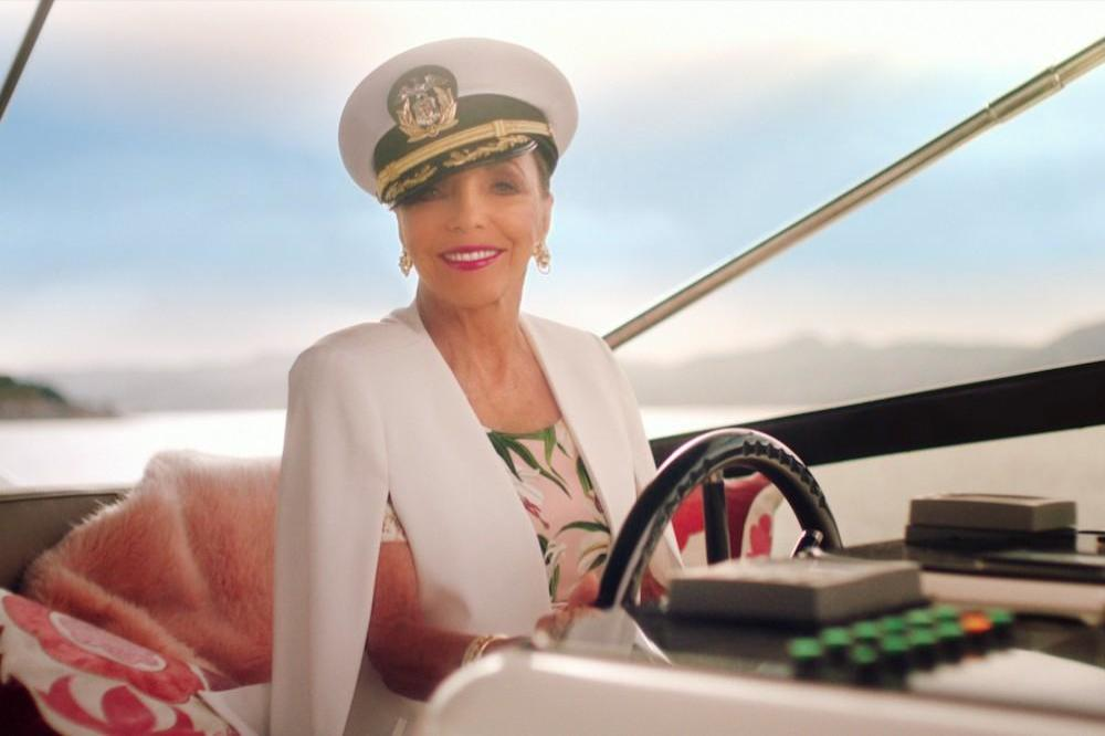 Dame Joan Collins for Three UK