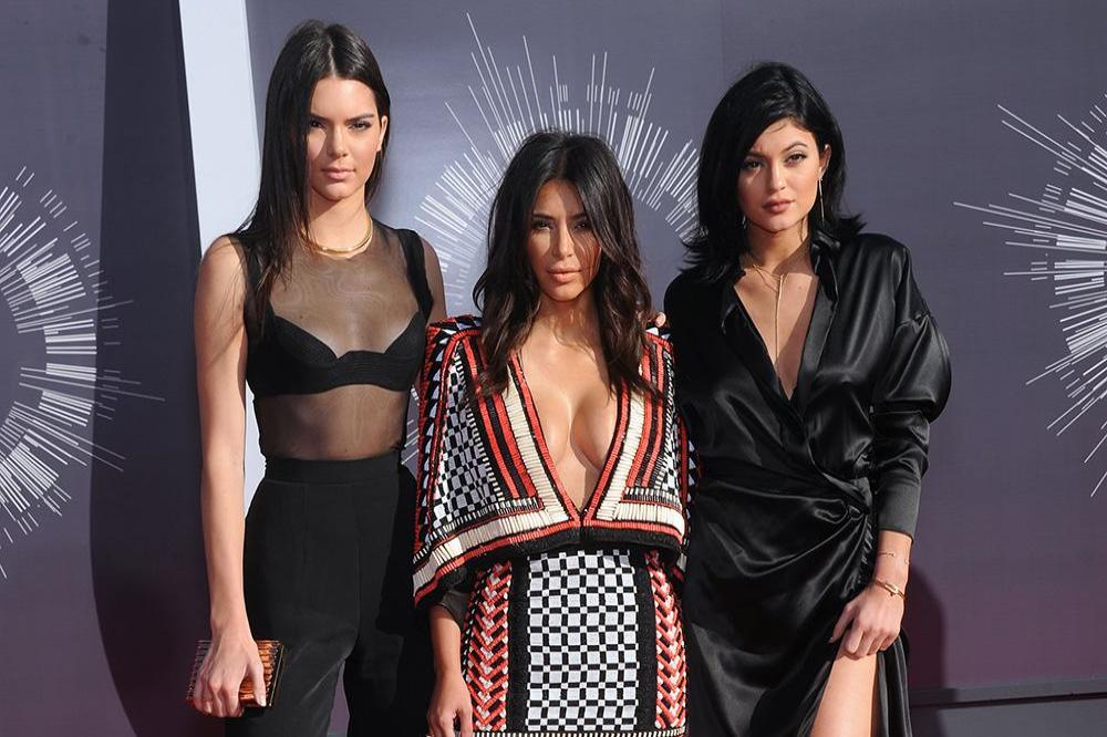 Kendall Jenner, Kim Kardashian West and Kylie Jenner
