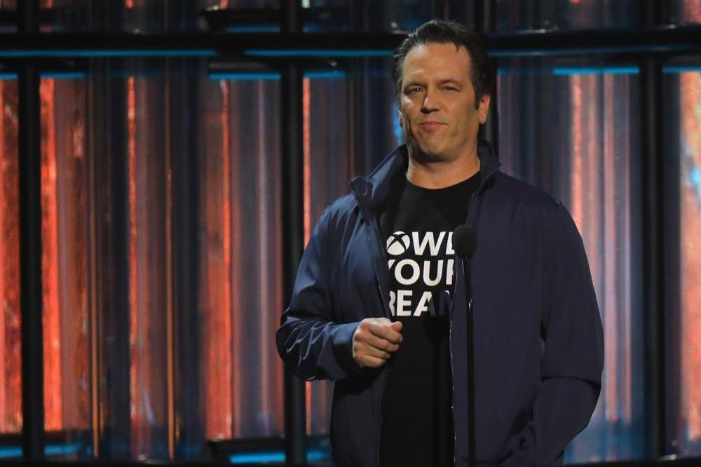 Phil Spencer at The Game Awards 2019