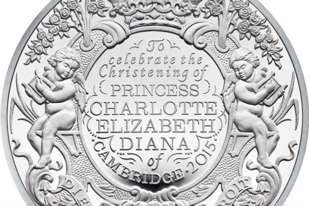 Coin released by Royal Mint to celebrate Princess Charlotte's christening