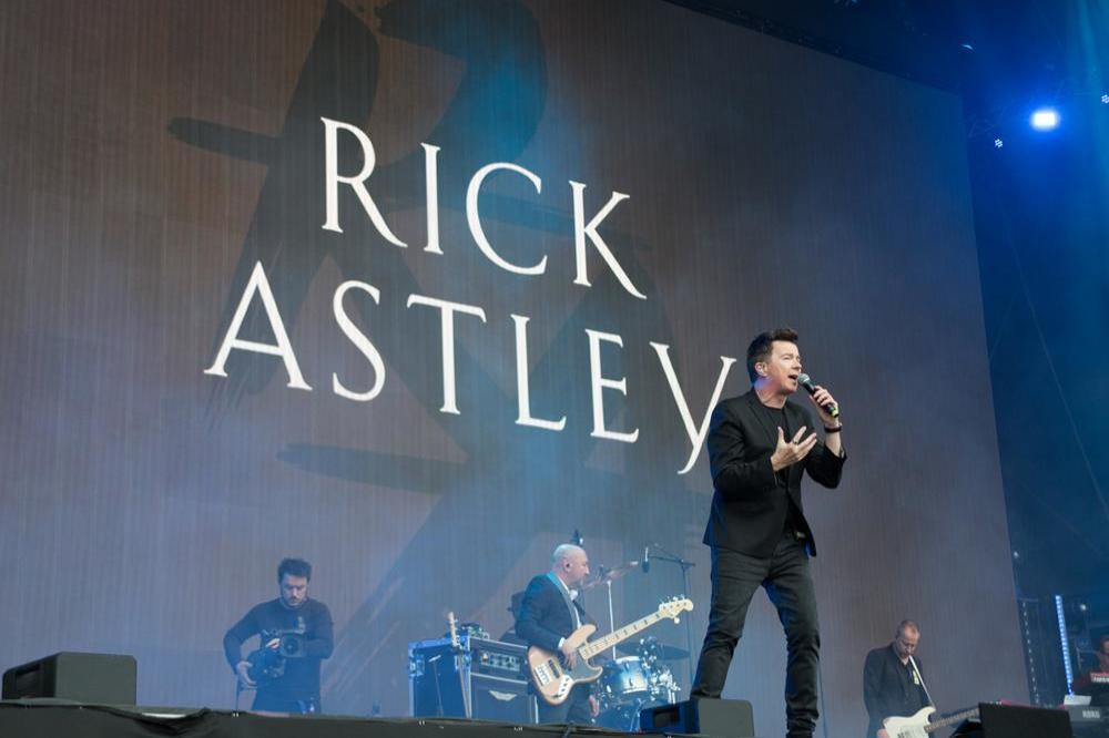 Rick Astley is the subject of popular meme Rickrolling