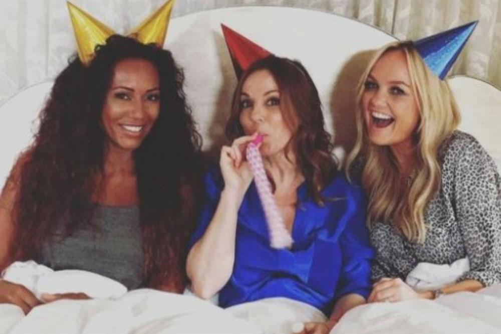 The Spice Girls (Emma Bunton Twitter)