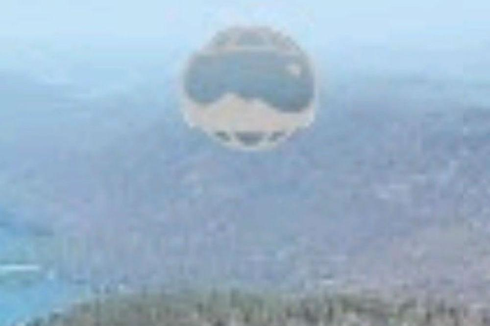 The 'UFO' captured on Google Earth