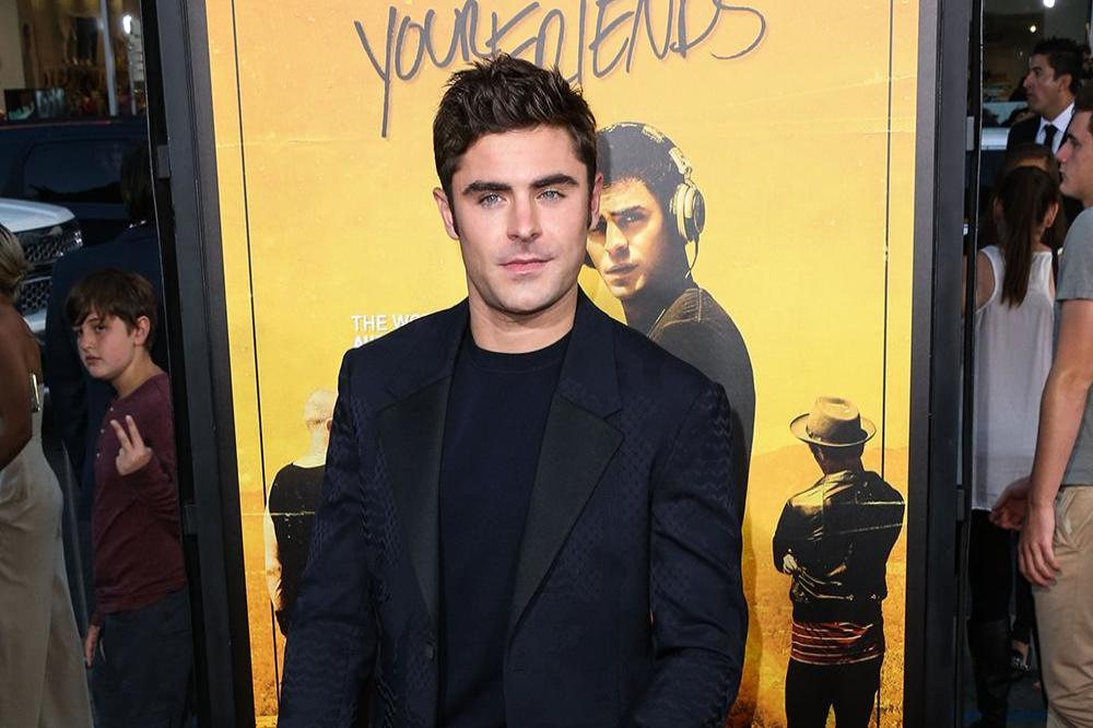 Zac Efron at 'We Are Your Friends' LA premiere