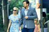 Michelle Williams, Jason Segel and Matilda Ledger