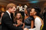 Prince Harry at the gala dinner