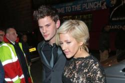 Ellie and Jeremy arriving at BRITs after-party