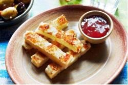 Halloumi fries at Nando's