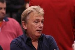 Host Pat Sajak laughed at Blair's remark