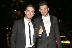 Jake Quickenden and Jay James at the 2014 Attitude Awards
