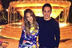 Jennifer Lopez and ex-boyfriend Casper Smart