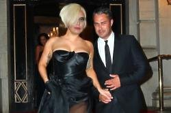 Lady Gaga with Taylor Kinney