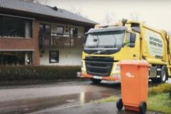 Lorry driver poos on side of road