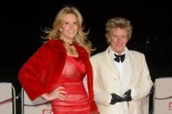 Penny Lancaster and Sir Rod Stewart