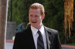 Redmond O'Neal leaves court