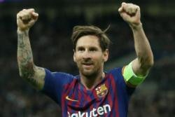 The pope has warned Lionel Messi fans against referring to him as 'God'