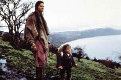 Val Kilmer and Warwick Davis in Willow