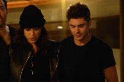 Michelle Rodriguez and Zac Efron