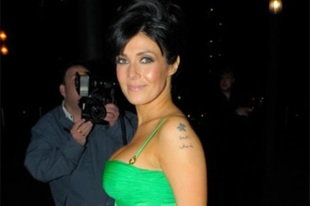 Kym Marsh's New Year's resolution