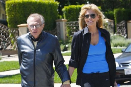 Larry King and wife Shawn Southwick