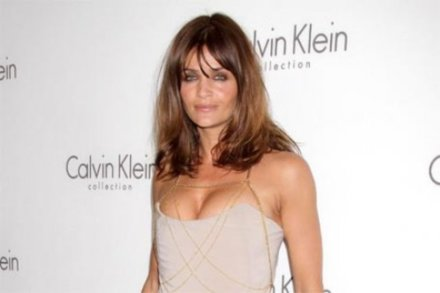 Helena Christensen always partied with pals