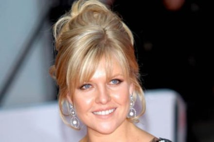 Ashley Jensen travelled to India as part of the Save the Children campaign