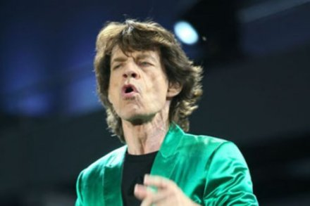 Mick Jagger working with Dave Stewart