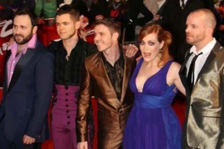 Jake Shears with Scissor Sisters
