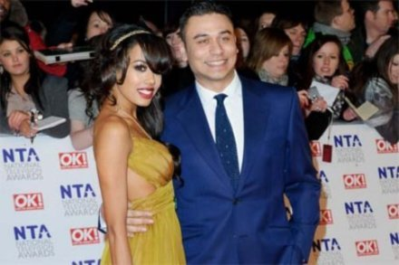 Ricky Norwood and Jade Ewen at last night's (26.01.11) National Television Awards at London's O2 Arena