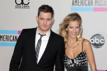 Michael Buble with wife Luisana Lopilato
