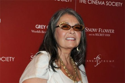 Roseanne Barr wants to give Obama a run for his position