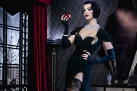 Katy Perry in the ghd Scarlet campaign