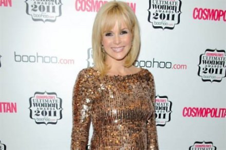 Amanda Holden at last night's (03.11.11) Cosmopolitan Ultimate Women of the Year Awards 2011 at London's Banqueting House.