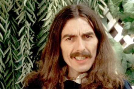 A youthful George Harrison
