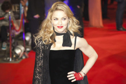 Madonna at the UK premiere of 'W.E.'