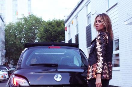 Abbey Clancy stars in 'The Vauxhalls' a short film celebrating the launch of the 'Vauxhall Adam Rocks Air' directed by James Brown