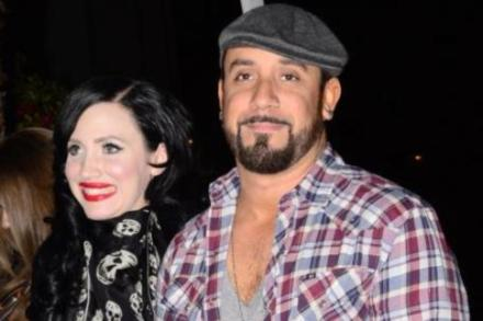 AJ McLean and wife Rochelle