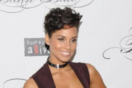 Alicia Keys at the Keep A Child Alive Black Ball Redux