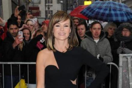 Amanda Holden at the Britain's Got Talent London auditions