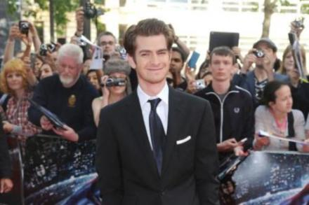 Andrew Garfield at Amazing Spider-Man premiere