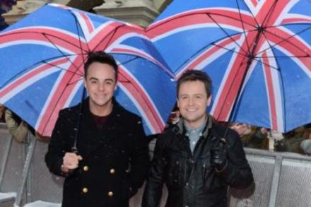 Ant and Dec at the Britain's Got Talent London auditions