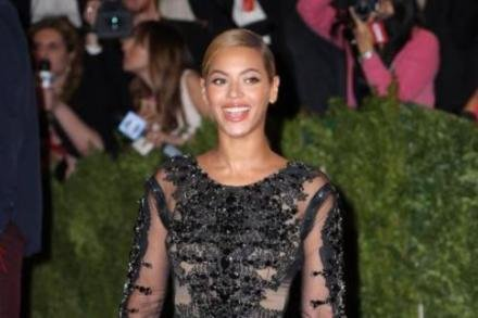 Beyonce Knowles in Givenchy at the Met Costume Institute Gala