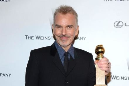 Billy Bob Thornton with Golden Globe