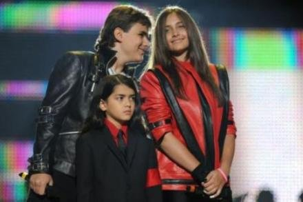 Prince Michael, Paris and Blanket Jackson