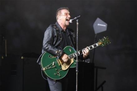 Bono might not play guitar again