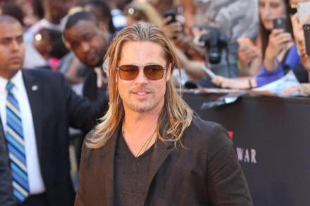 Brad Pitt World War Z premiere