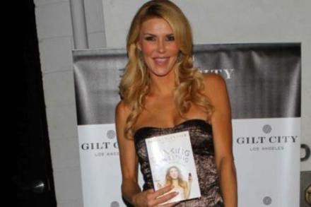 Brandi Glanville at her book launch