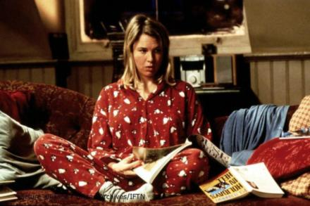 Bridget Jones played by Renée Zellweger